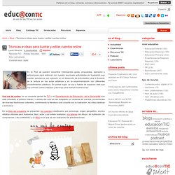 Técnicas e ideas para ilustrar y editar cuentos online