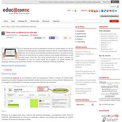 Cómo crear un eBook de un sitio web