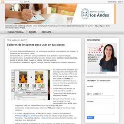 TECNOLOGIAS EDUCATIVAS Y CONVIVENCIA DIGITAL: Editores de imágenes para usar en tus clases