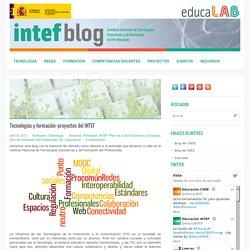 Tecnologías y formación: proyectos del INTEF