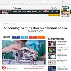 5 tecnologías que están revolucionando la educación