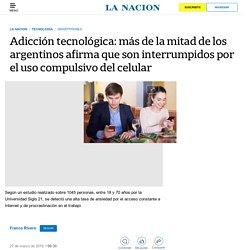 Adicción tecnológica: más de la mitad de los argentinos afirma que son interrumpidos por el uso compulsivo del celular