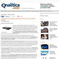 Tendencias tecnológicas empresariales 2010: Las tabletas táctiles