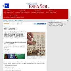 Test tecnológico - Practica Español