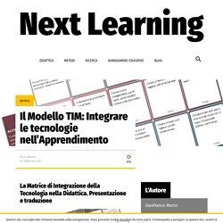 Il Modello TIM: Integrare le tecnologie nell'Apprendimento