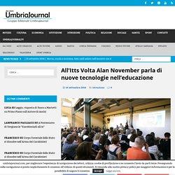 All'Itts Volta Alan November parla di nuove tecnologie nell'educazione - umbriajournal.com