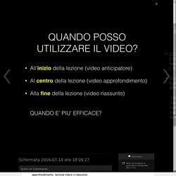 [TECNOLOGIE] Creare un video didattico, velocemente e gratis