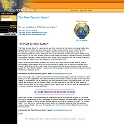 Plate Tectonics The Tectonic Globe™