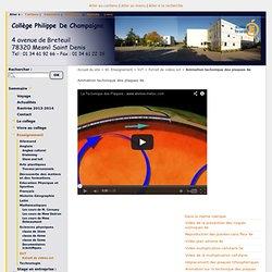 Animation tectonique des plaques 4e - Collège Ph. de Champaigne