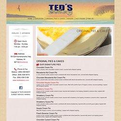 Ted's Bakery | ORIGINAL PIES