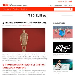 5 TED-Ed Lessons on Chinese history
