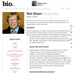 Ted Olson - Biography - Lawyer - Biography.com