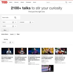 TED Translations | Talks in Spanish