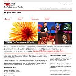 2011: Program