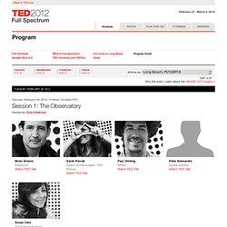 2012: Program Guide