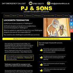 Teddington Locksmith - Locksmiths in Teddington - PJ & Sons