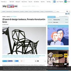 25 anni di design tedesco, firmato Konstantin Grcic