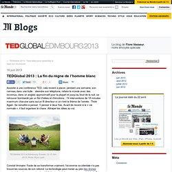 TEDGlobal 2013 : La fin du règne de l'homme blanc