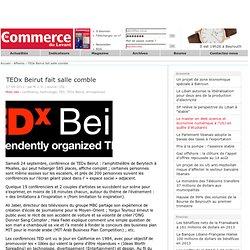 TEDx Beirut fait salle comble
