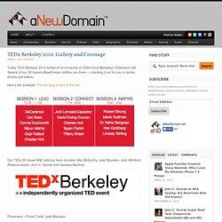 Tedx Berkeley 2012