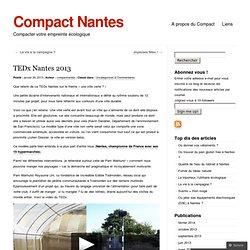TEDx Nantes 2013 « Compact Nantes