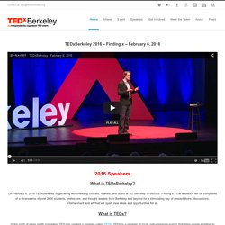 TEDxBerkeley - Inspiring Innovation -
