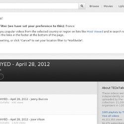 TEDxNYED - April 28, 2012
