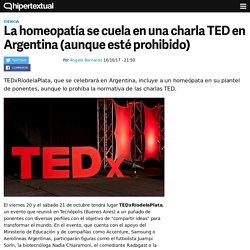 La homeopatía se cuela en TEDxRíodelaPlata