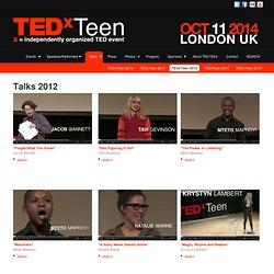 TEDxTeen 2012