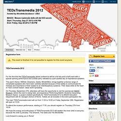 TEDxTransmedia 2012 Valenzano
