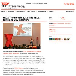 TEDx Transmedia 2012: The TEDx Talks and Day in Review