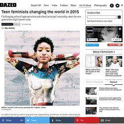 Teen feminists changing the world in 2015