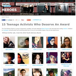 15 Teenage Activists Who Deserve An Award
