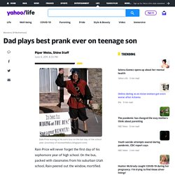 The Price family - Dad plays best prank ever on teenage son on Shine