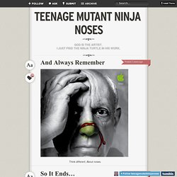 TEENAGE MUTANT NINJA NOSES - Page 1 of 18