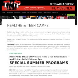 Summer Camps for Teenagers USA