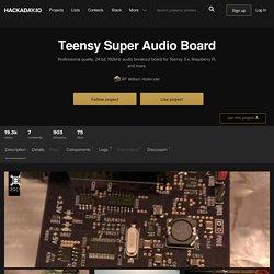 Teensy Super Audio Board