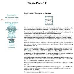 How to Build Teepees: Make Indian Teepee; TePee Making, Natve American Tee Pee, Tipi, Tipis, miniature real