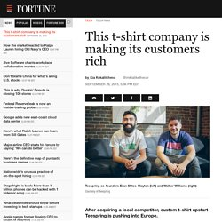 Teespring expands to Europe following Fabrily acquisition