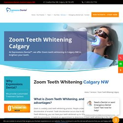 Get upto 10 Shades Whiter Teeth With Zoom Teeth Whitening In Calgary