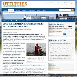 Vpro Tegenlicht: nieuwe industriele revolutie aanstaande - Utilities