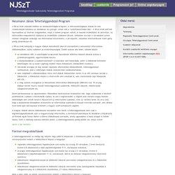 Neumann János Számítógép-tudományi Társaság Tehetséggondozási Szakosztálya / Tehetséggondozó Program