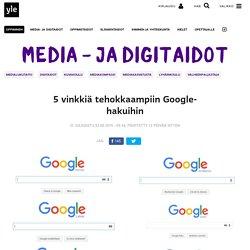 5 vinkkiä tehokkaampiin Google-hakuihin