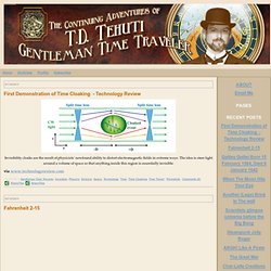 T.D. Tehuti Gentleman Time Traveler