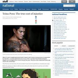 Teina Pora: The true cost of injustice