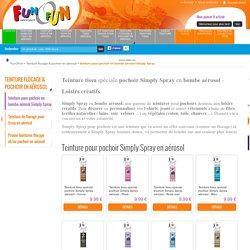 teinture pour pochoir en bombe aérosol Simply Spray - TeinturetissuspécialepochoirSimply Spray enbombe aérosol - Loisirs créatifs - Fun O Fun