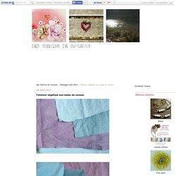 Teinture végétale aux baies de sureau - des chemins de couleurs
