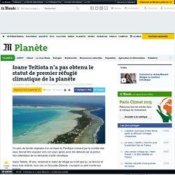 Ioane Teitiota n'a pas obtenu le statut de premier réfugié climatique de la planète