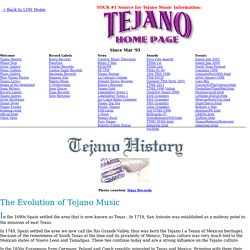 tejano music history essay September 11, 2012 my essay will be about the tragedy of selena quintanilla, selena was a famous mexican/american singer and song writer selena quintanilla-perez was.