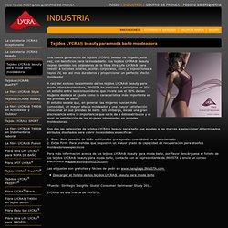 Tejidos LYCRA® beauty para moda baño moldeadora